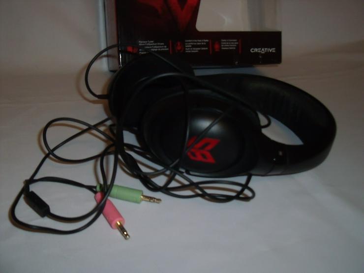 Bild 4: Kopfhörer Stereo 2 Stück, mit  karton.