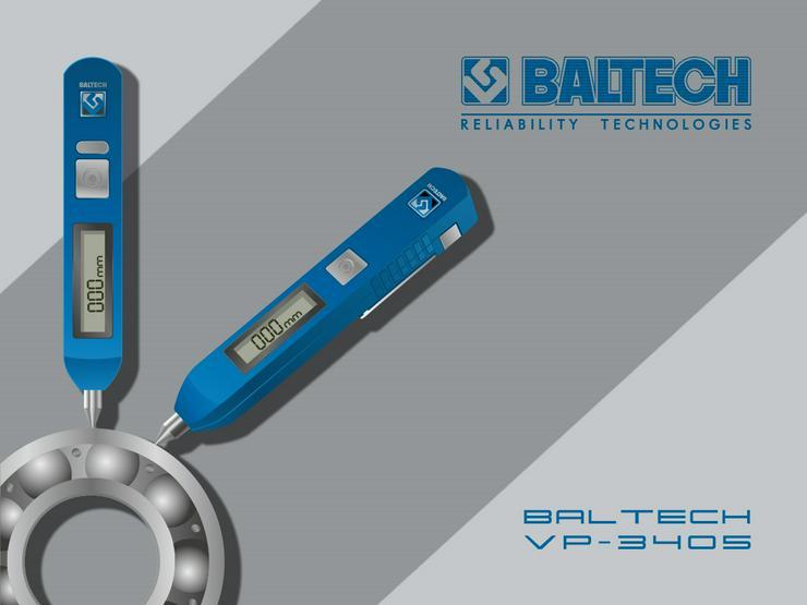 Bild 2: Medición de control de vibraciones-vibr gestionar BALTECH VP-3405-2