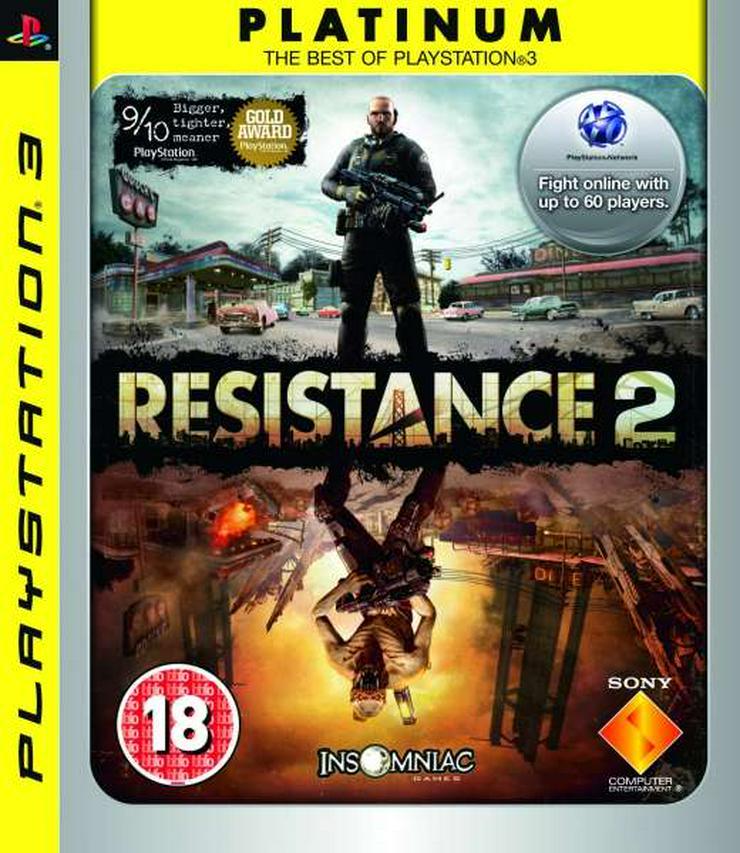 PS3 Spiel Resitance 2