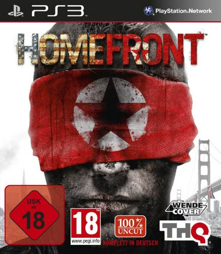 PS3 Spiel Homefront 100% uncut