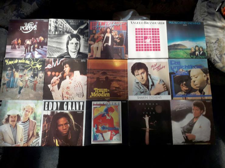 Amiga Schallplatten Teil 1