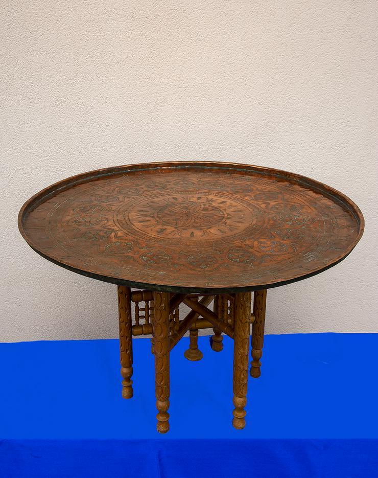 Bild 2: Kupfertisch aus Ägypten