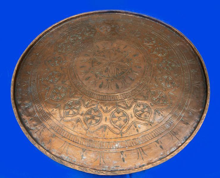 Kupfertisch aus Ägypten - Tische - Bild 1