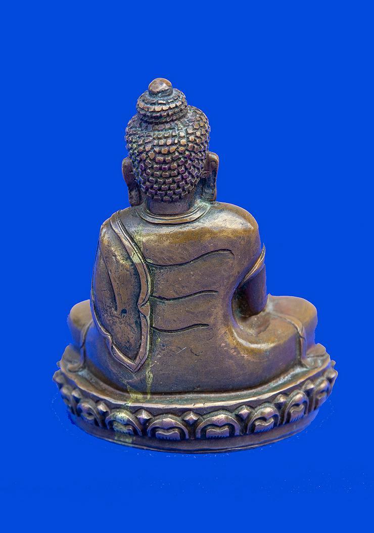 Bild 2: Buddha aus Bronze, antik