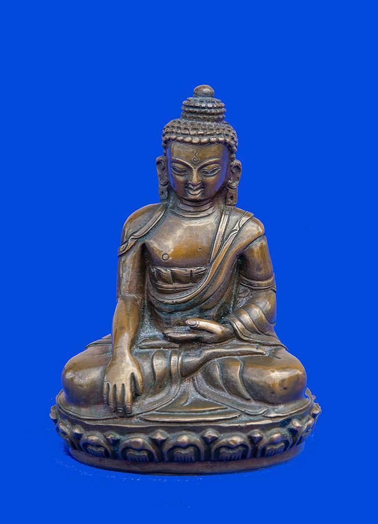 Buddha aus Bronze, antik - Weitere - Bild 1