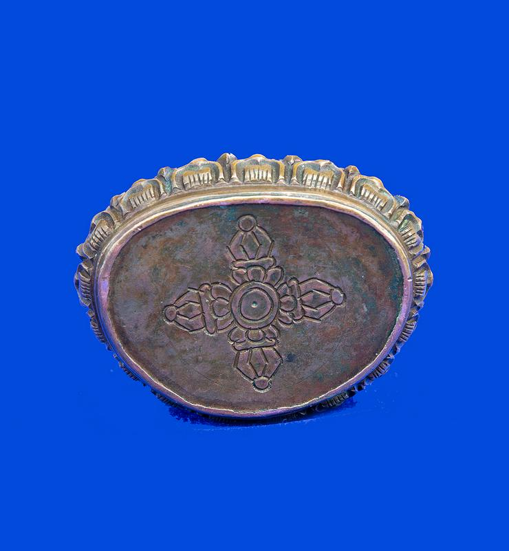 Bild 3: Buddha aus Bronze, antik