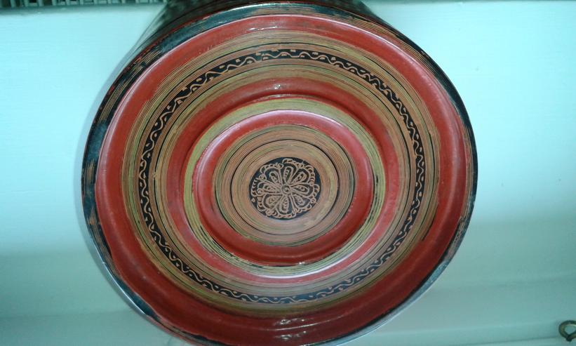 Bild 3: Indischer Reisbehälter, antik