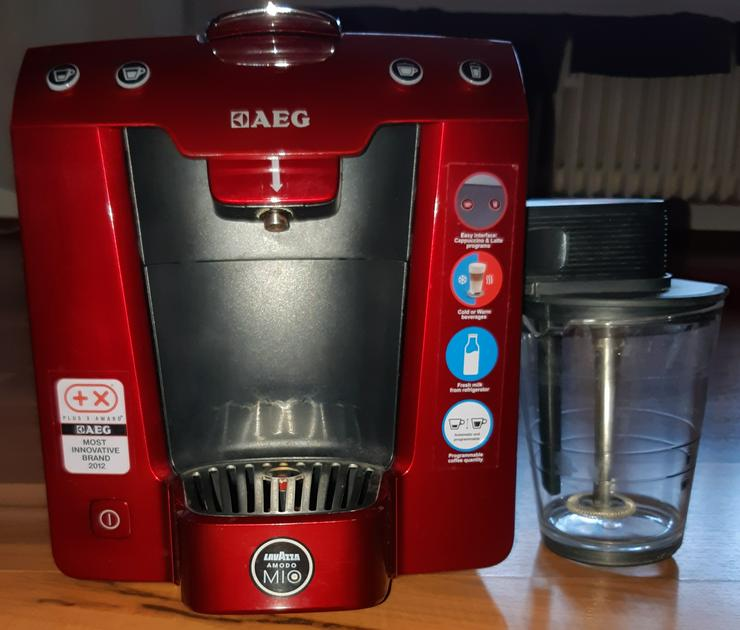 AEG Kaffeekapselmaschine Favola LM5400 A Modo Mio