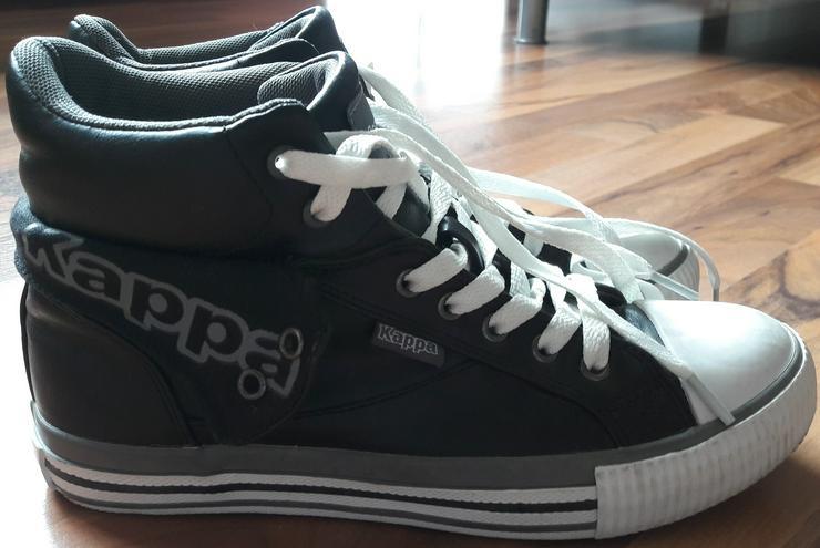 Kappa High Top Damen Sneakers / Freizeitschuhe (schwarz) Gr. 37