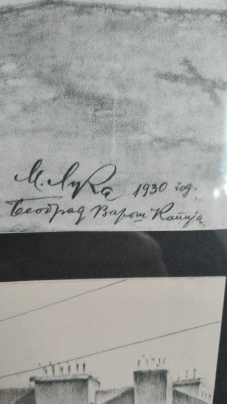 6 Radierungen 1930 v.M.L. € 80