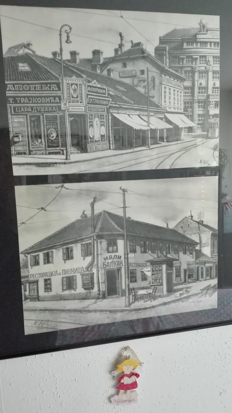 Bild 2: 6 Radierungen 1930 v.M.L. € 80