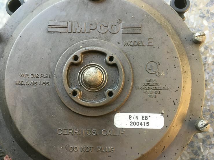 Bild 2: LPG Gasanlage für V8 Motor, Boot oder KFZ