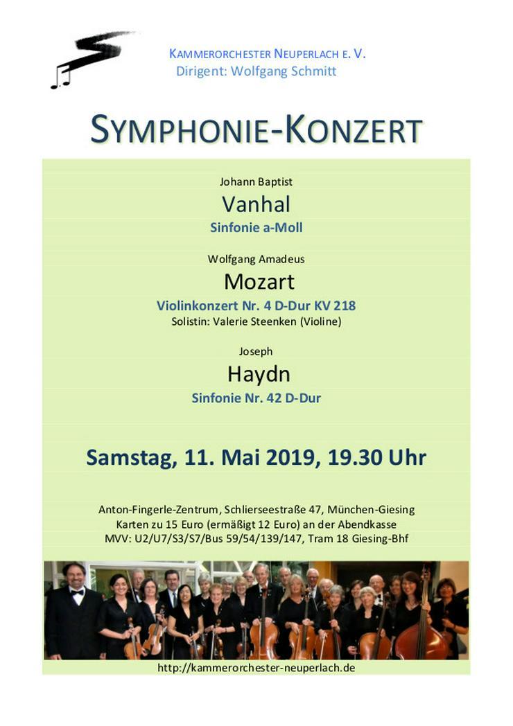 MitstreicherInnen für Sinfoniekonzert am 11.05.19 willkommen!