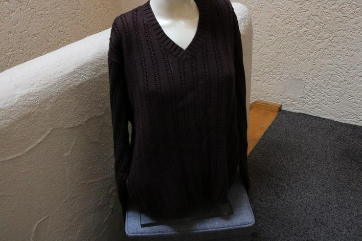 Pullover Gr. XL, dunkelbraun, Eddie Bauer