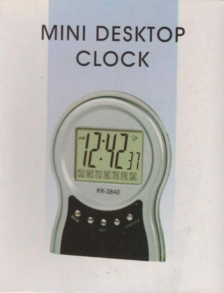 Batteriebetriebene Tich-Uhr, digital