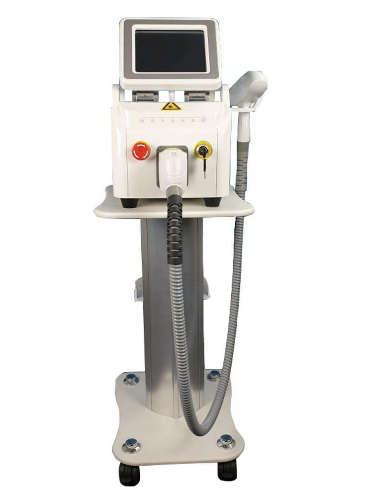 Q-switch Nd YAG Laser Gerät-Tattoo Entferner und 3 Filter / Wellenlängen