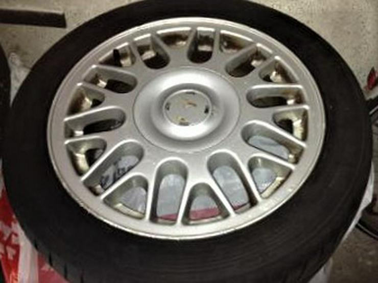 4 Reifen mit Alufelgen für Golf 3