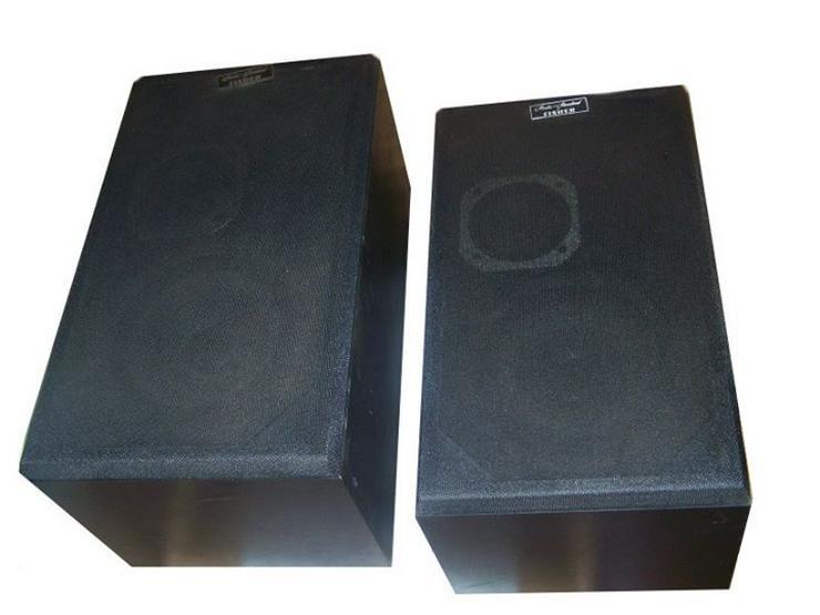 2x 3 WEGE Bass Boxen von Fisher