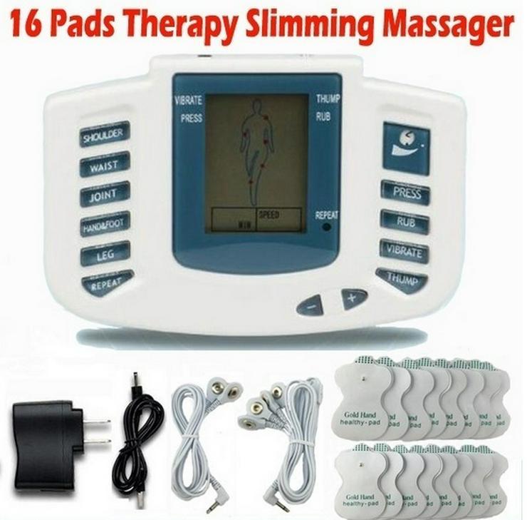 Elektrischer Anreger-voller Körper entspannen sich Muskeltherapie-Massager-Massage-Im puls-Akupunkt