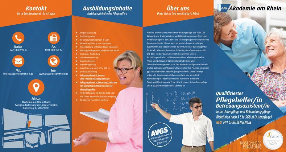 Pflegehelfer-/in (Qualifizierung/ Weiterbildung) 6 Monate - Bildung & Erziehung - Bild 1