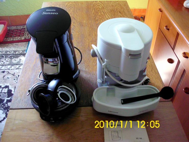 Kaffee und Espressomaschiene