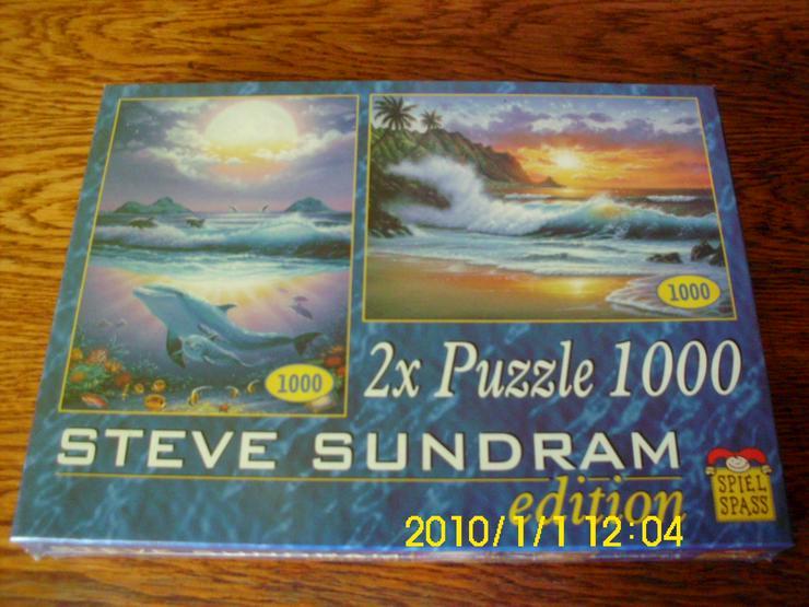Puzzele mit 1000 Teile