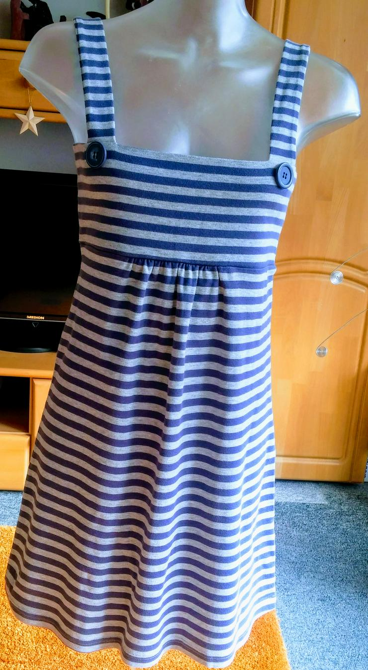 Damen Kleid Jersey Träger Gr.36/38 NW