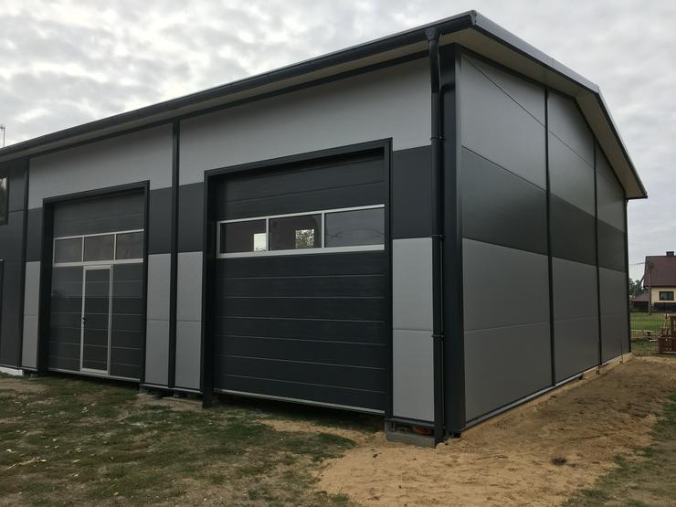 Bild 3: Stahlhalle Lagerhalle Gewerbehalle Werkstatthalle mit Beurobereich