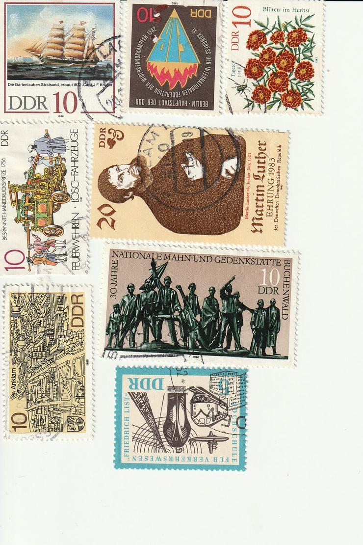 DDR- Briefmarken zu verkaufen