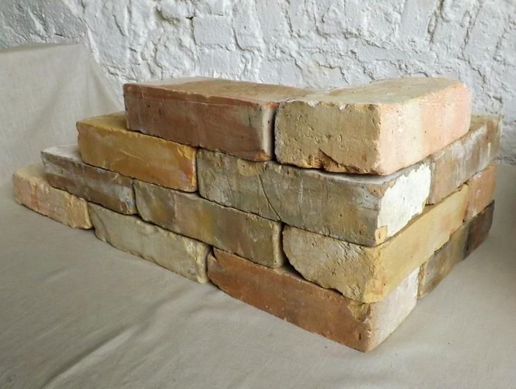 Bild 2:  Antike Ziegelsteine rustikale Klinker Verblender alte Mauersteine historisches Mauerwerk mediterran