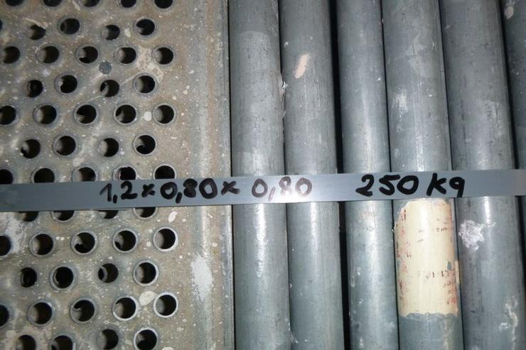 Bild 6: Layher Gerüst Geländer Stahlboden Bordbrett Stahlböden 1,09m