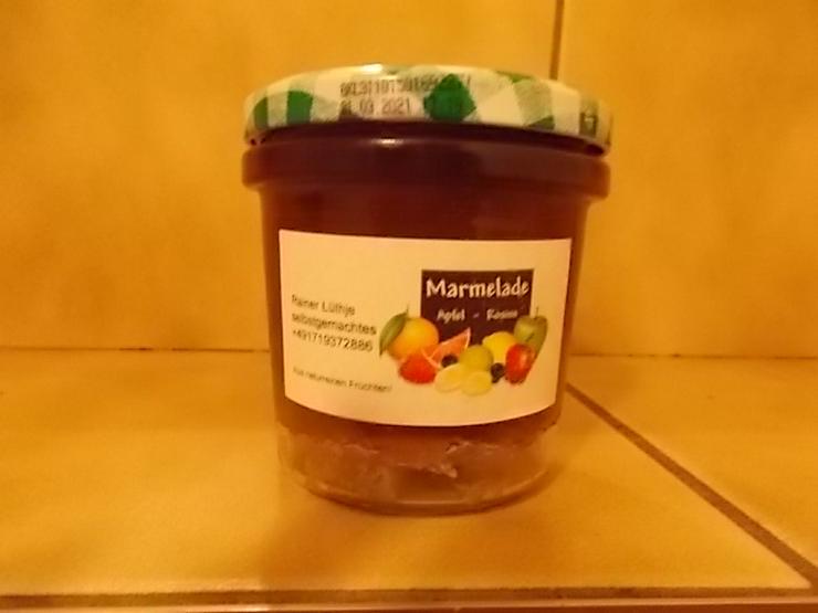 Bild 2: Marmeladen verschiedener Geschmacksrichtungen von Privat