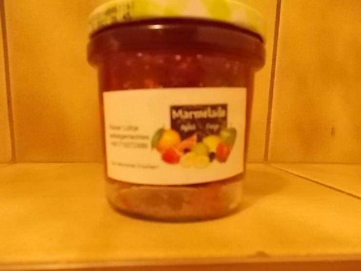 Marmeladen verschiedener Geschmacksrichtungen von Privat
