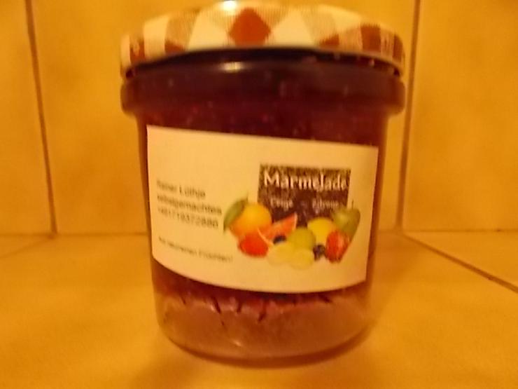 Bild 3: Marmeladen verschiedener Geschmacksrichtungen von Privat