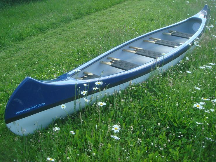 Kanu 5er Kanadier 550 Neu ! in blau /weiß