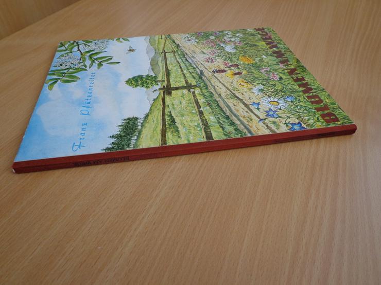"""Bild 9: Sammelbilder-Album """"Blumen am Wege"""", HERBA-Verlag, Neuzustand"""