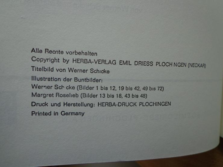 """Bild 3: Sammelbilder-Album """"Blumen am Wege"""", HERBA-Verlag, Neuzustand"""