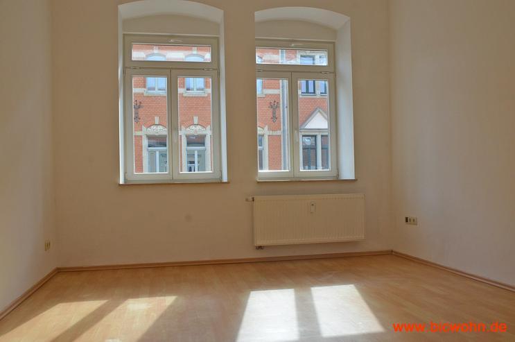 Balkon + Wohnküche + Laminat 2-Raum-Wohnung in Dresden-Neustadt                 - Wohnung mieten - Bild 1
