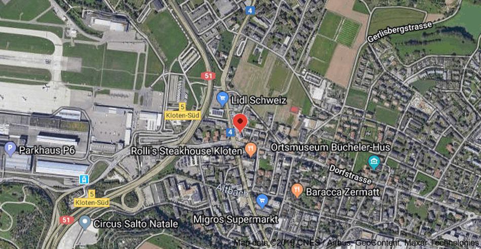 Bild 2: Schweiz: Repräsentativer Geschäftssitz in  Zürich-Kloten