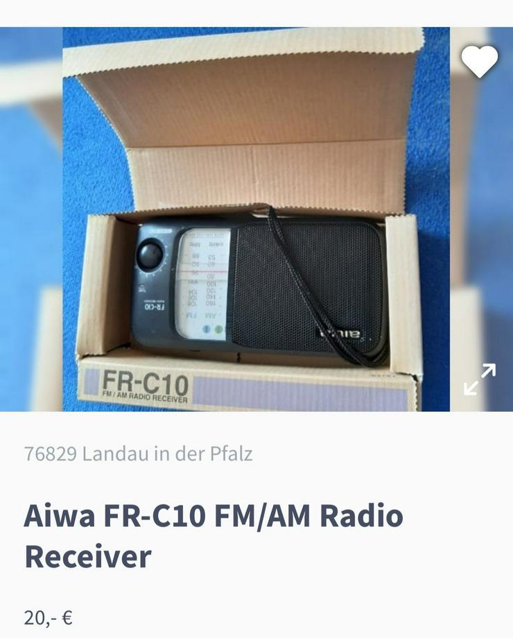 aiwa FR-C10 FM/AM Radio Receiver