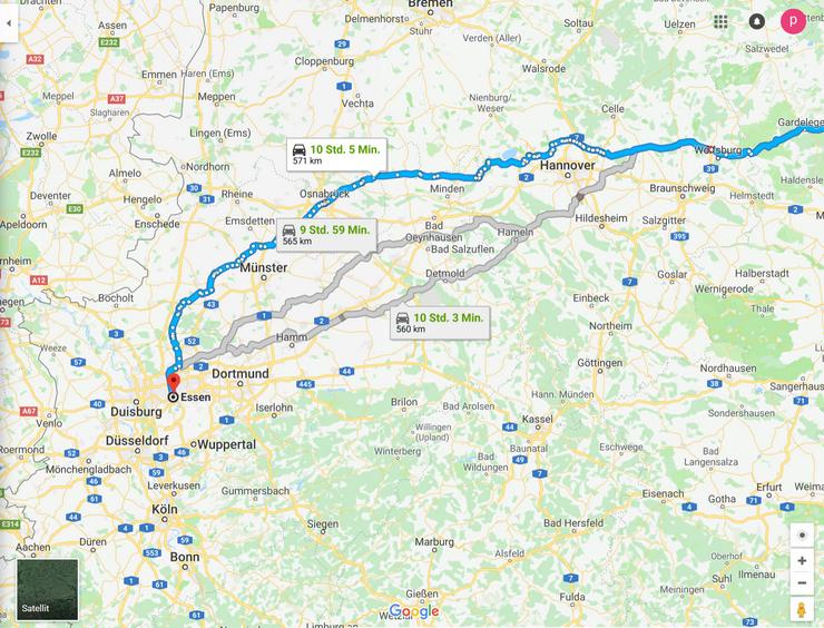 Beiladung von berlin Magdeburg Braunschweig Osnachbrück Hannover