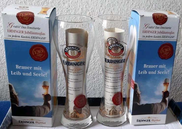 Original ERDINGER Jubiläumsglas