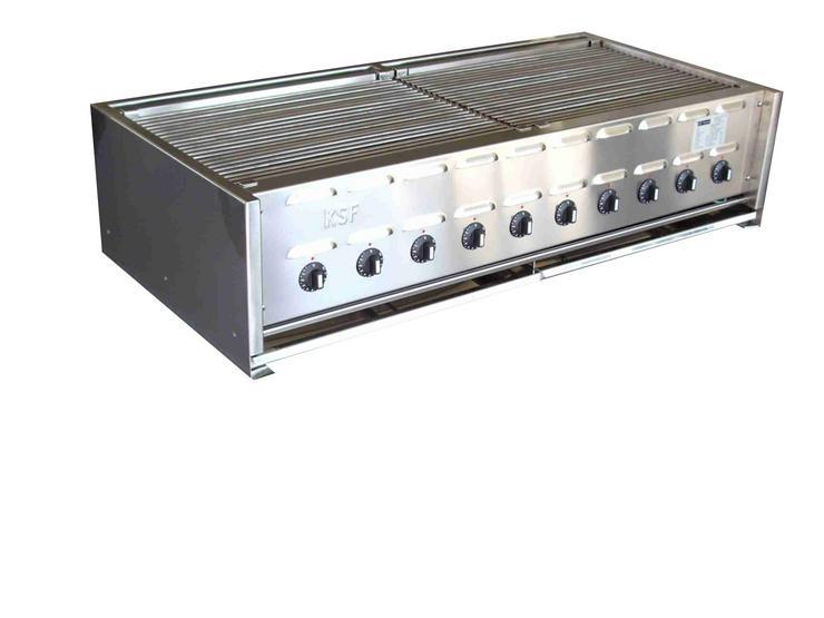 Bild 2: KSF Grill Typ RGS 125 Gastrobräter Rostbräter für die Gastronomie