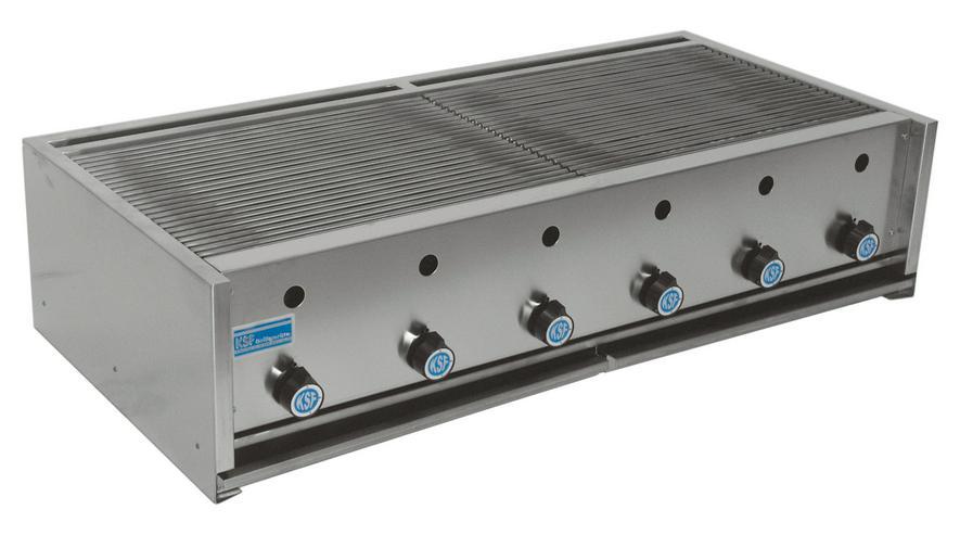 KSF Grill Typ RGS 125 Gastrobräter Rostbräter für die Gastronomie