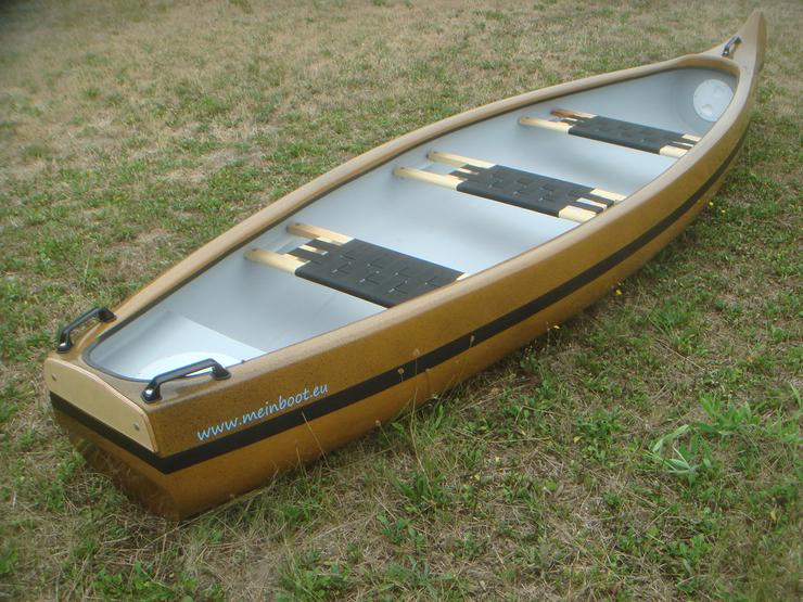 Kanu 3er Heckspiegel - Kanadier 420 Neu ! - Kanus, Ruderboote & Paddel - Bild 1