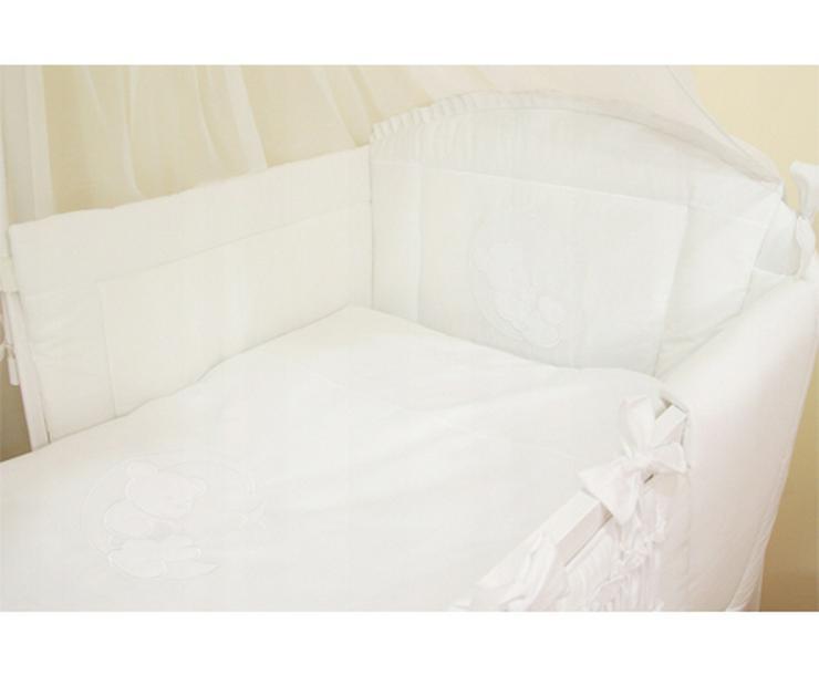 Bild 5: Mond Bestickte Bettwäsche Bett Matratze 60x120cm Bettausstattung Bettsets Baby