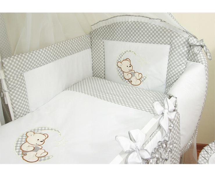 Bild 2: Mond Bestickte Bettwäsche Bett Matratze 60x120cm Bettausstattung Bettsets Baby