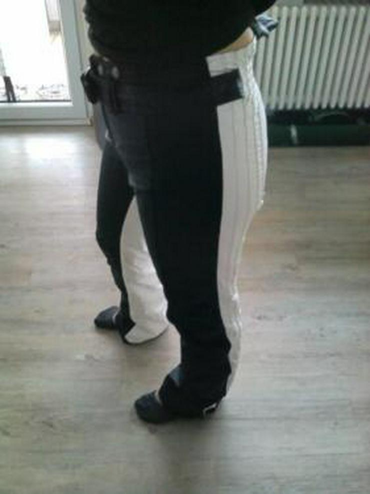Seltene, neuwertige Damen Jet-Set Skihose schwarz/weiß ! Größe M