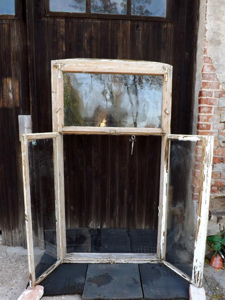 Bild 3: alte Historische Holz fenster Gründerzeit Villa Antik Fenster Wintergarten Vordach Tiny House Gewächshaus DIY