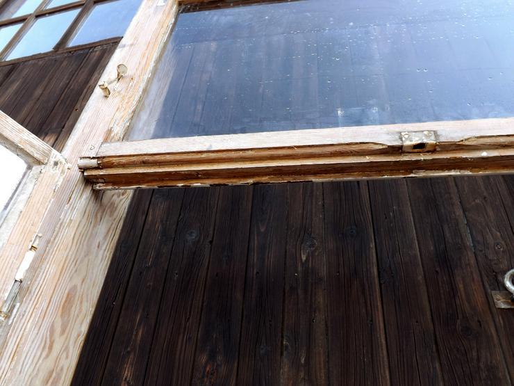 Bild 4: alte Historische Holz fenster Gründerzeit Villa Antik Fenster Wintergarten Vordach Tiny House Gewächshaus DIY